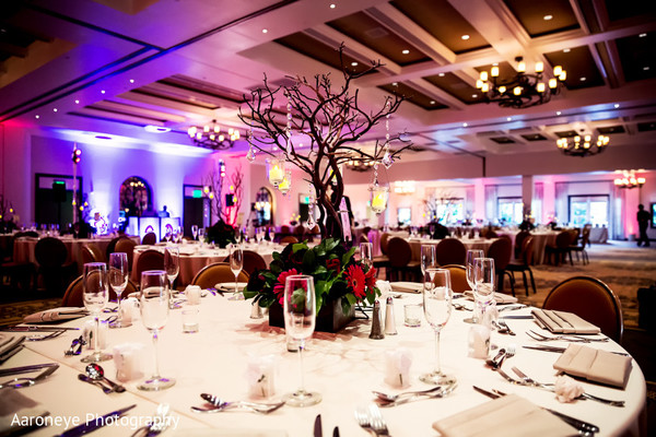Floral & Decor in La Jolla, CA Indian Wedding by Aaroneye Photography