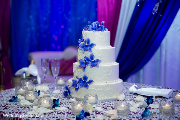 Cakes & Treats in Dallas, TX Indian Wedding by William Bichara Photography