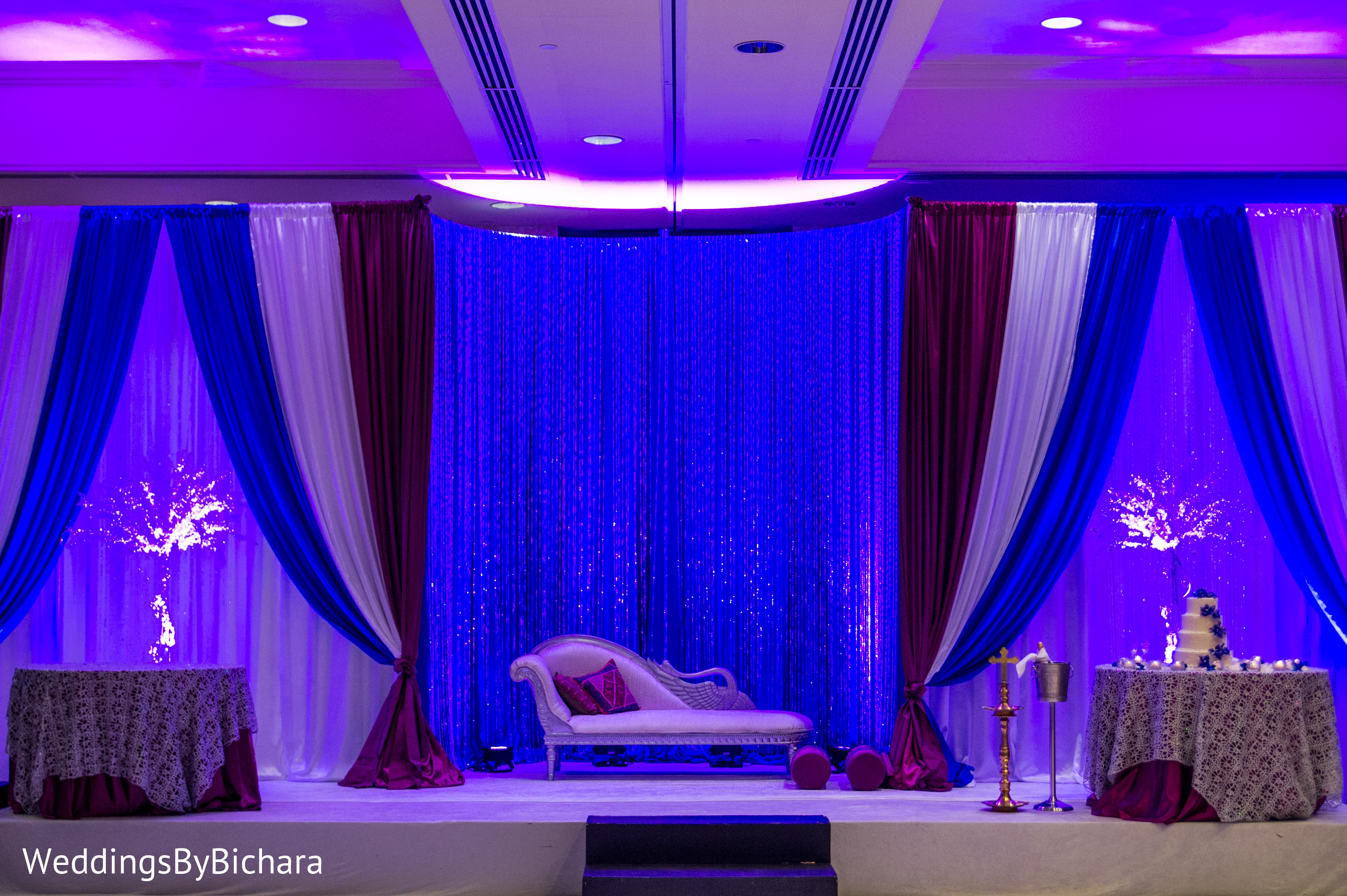 Reception In Dallas TX Indian Wedding By William Bichara