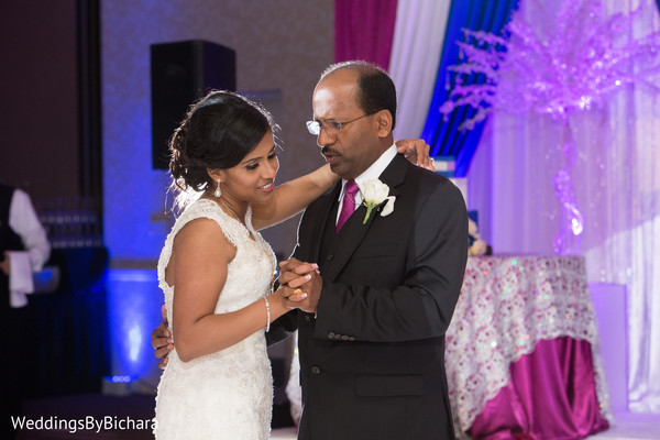 Reception in Dallas, TX Indian Wedding by William Bichara Photography