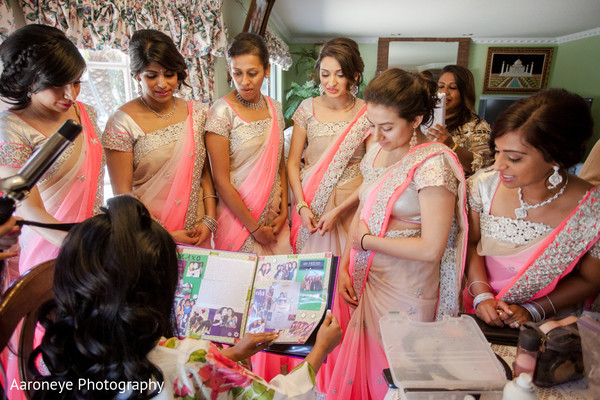 Getting ready in Pasadena, CA Indian Wedding by Aaroneye Photography
