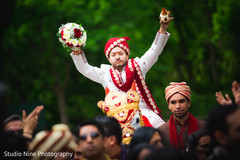 An Indian bride and groom wed in a charming Hindu ceremony!