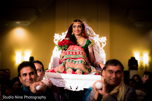 Ceremony in Hanover, NJ Indian Wedding by Studio Nine Photography