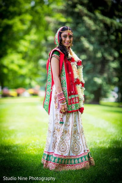 Bridal Fashions in Hanover, NJ Indian Wedding by Studio Nine Photography