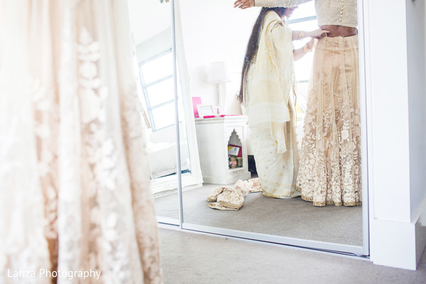 Getting Ready in Melbourne, Australia Indian Wedding by Lahza Photography