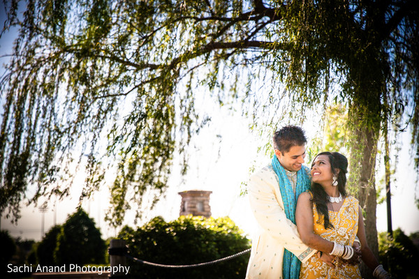 Portraits in Bloomington, IL Indian Wedding by Sachi Anand Photography