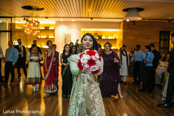 Reception in Melbourne, Australia Indian Wedding by Lahza Photography