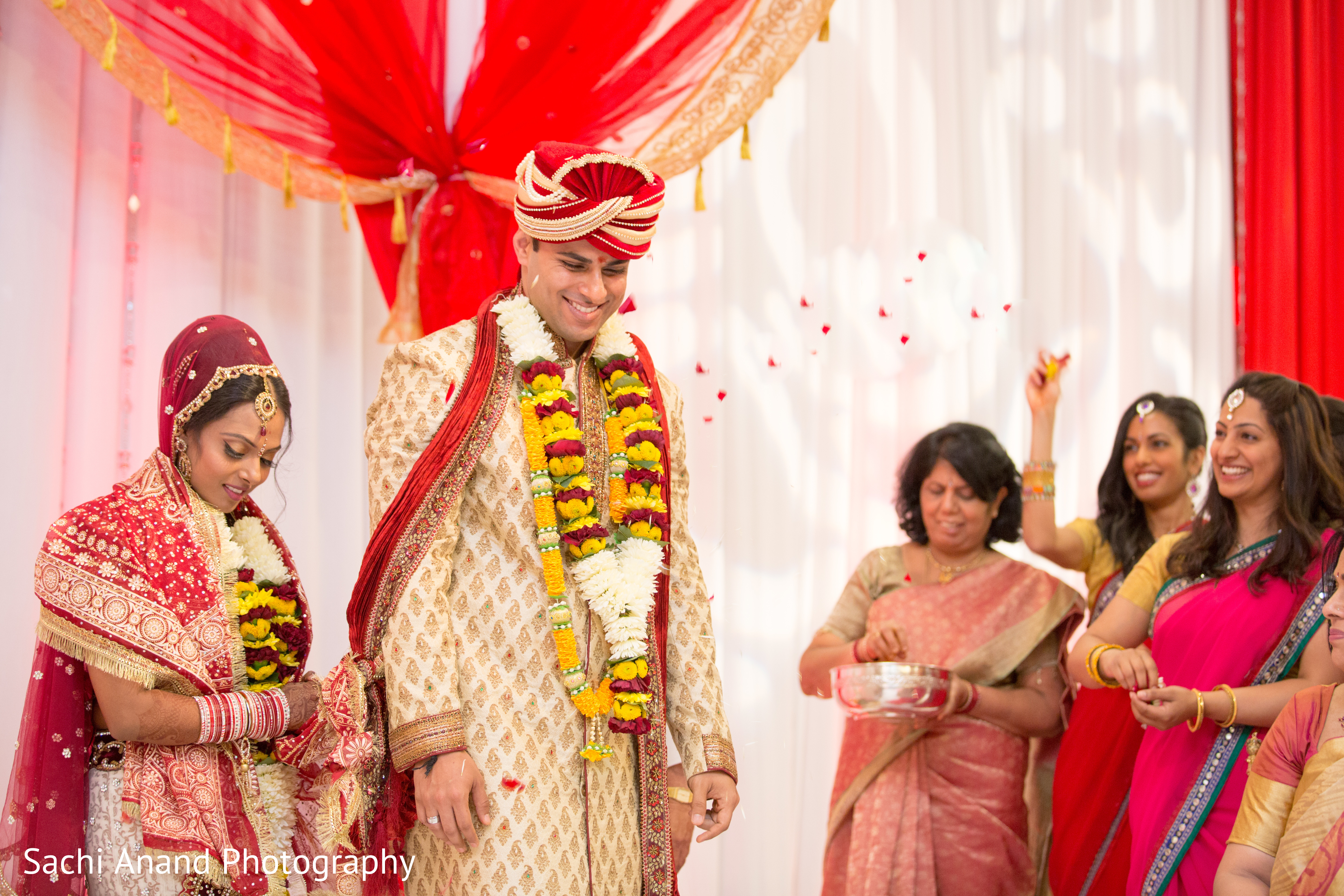 Ceremony In Bloomington IL Indian Wedding By Sachi Anand Photography