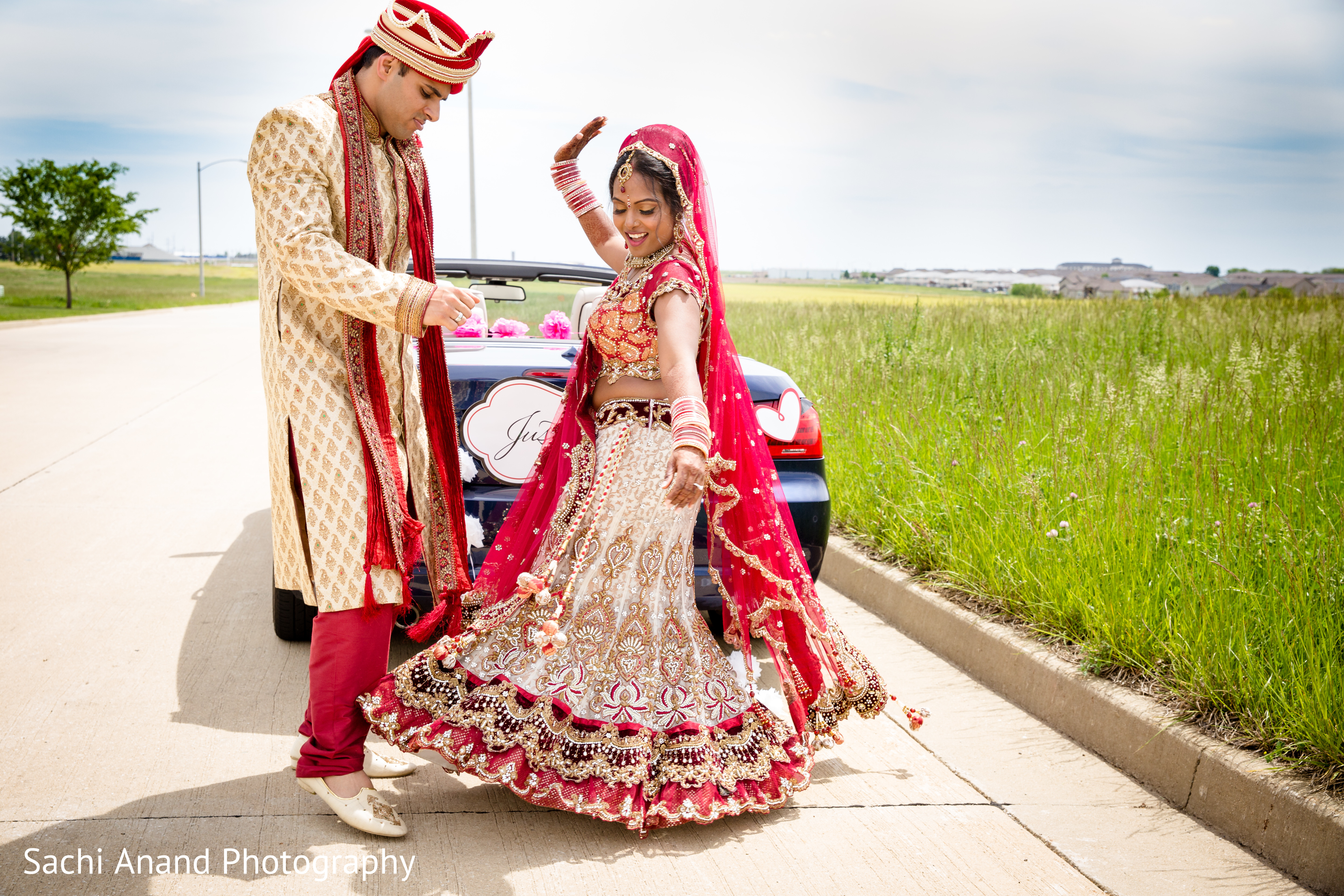 Portraits In Bloomington IL Indian Wedding By Sachi Anand Photography