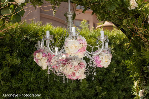 Floral & Decor in Pasadena, CA Indian Wedding by Aaroneye Photography