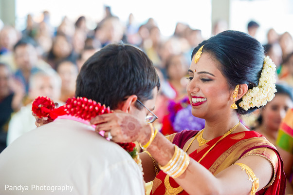 Ceremony in Jersey City, NJ Indian Wedding by Pandya Photography
