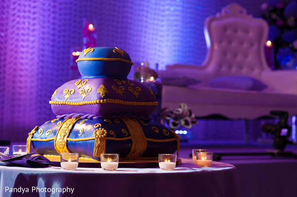 Cakes & Treats in Jersey City, NJ Indian Wedding by Pandya Photography