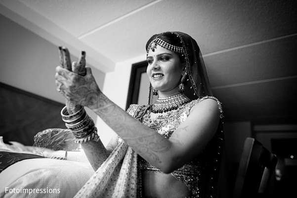 indian bride,bride getting ready,indian bride getting ready,images of indian bride,getting ready images,images of bride,bride,black and white,black and white photography,black and white photo