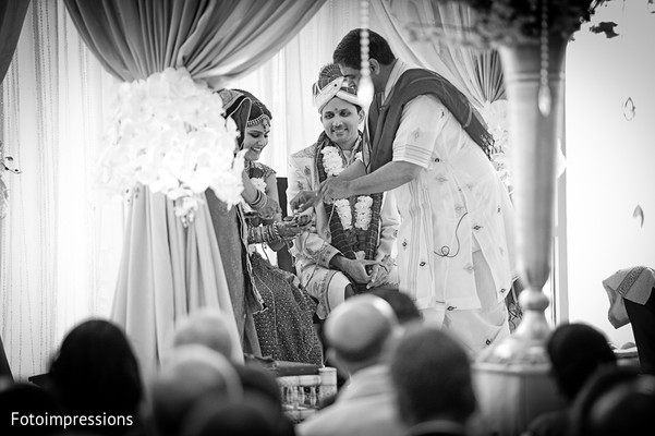 Wedding ceremony in North Haledon, NJ Indian Wedding by Fotoimpressions