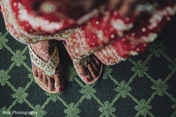 Getting Ready in Pearl River, NY Indian Wedding by BnB Photography