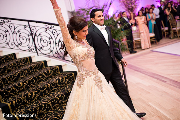 Reception in North Haledon, NJ Indian Wedding by Fotoimpressions