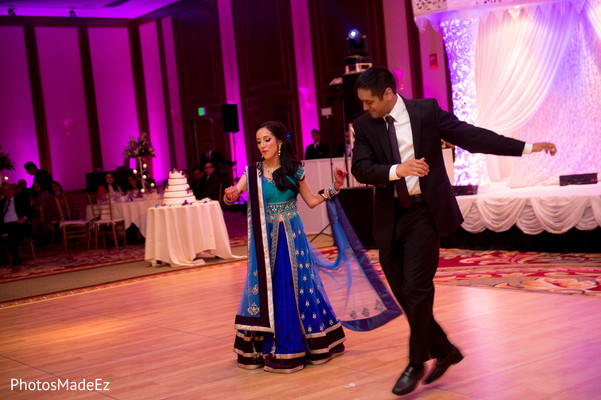 Reception in Stamford, Connecticut Indian Wedding by PhotosMadeEz