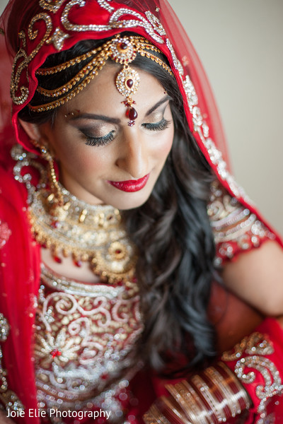 Portraits in Aberdeen, NJ Indian Wedding by Joie Elie Photography