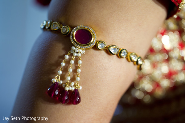 Wedding jewelry in Woodland Park, NJ Indian Wedding by Jay Seth Photography