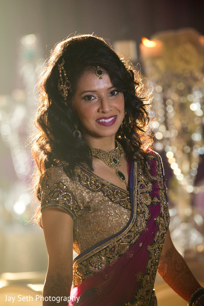 Wedding portraits in Woodland Park, NJ Indian Wedding by Jay Seth Photography
