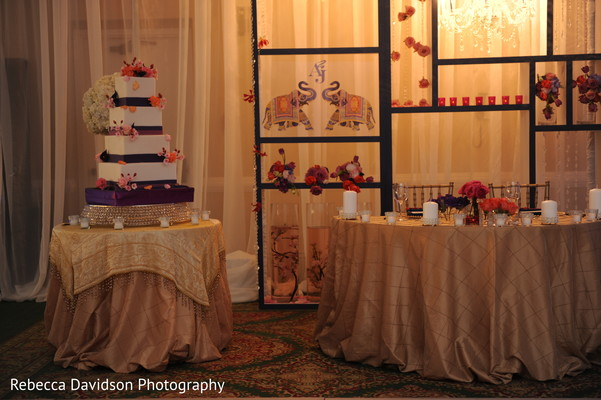 Reception in Grand Cayman Indian Destination Wedding by Rebecca Davidson Photography