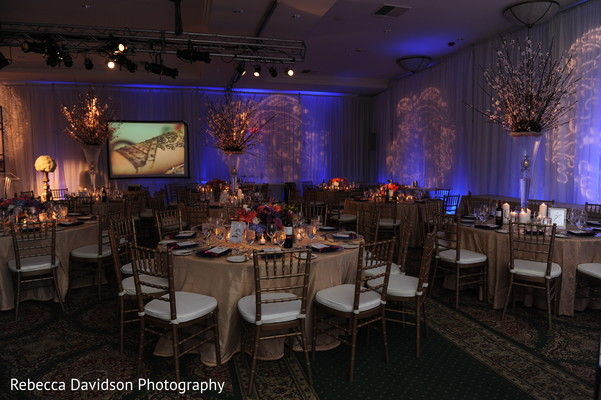 Floral & Decor in Grand Cayman Indian Destination Wedding by Rebecca Davidson Photography