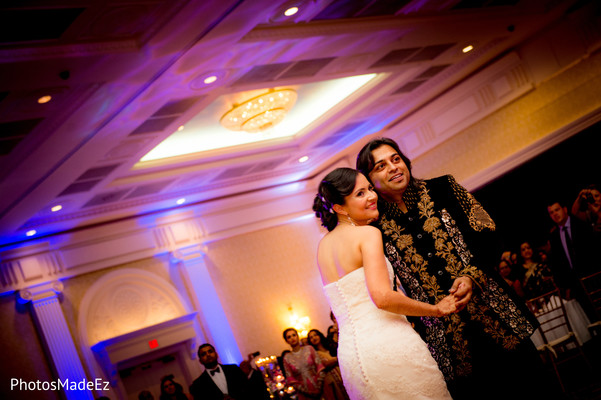 American ceremony and Reception in Dover, DE Indian Wedding by PhotosMadeEz