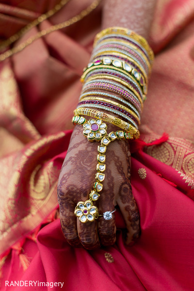 Bridal Jewelry in Dana Point, CA Indian Wedding by RANDERYimagery