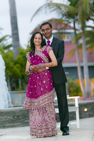 Portraits in Dana Point, CA Indian Wedding by RANDERYimagery