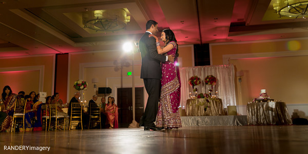 Reception in Dana Point, CA Indian Wedding by RANDERYimagery