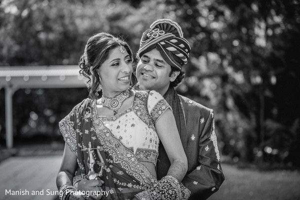 Pre-wedding portraits in West Orange, NJ Indian Wedding by Manish and Sung Photography