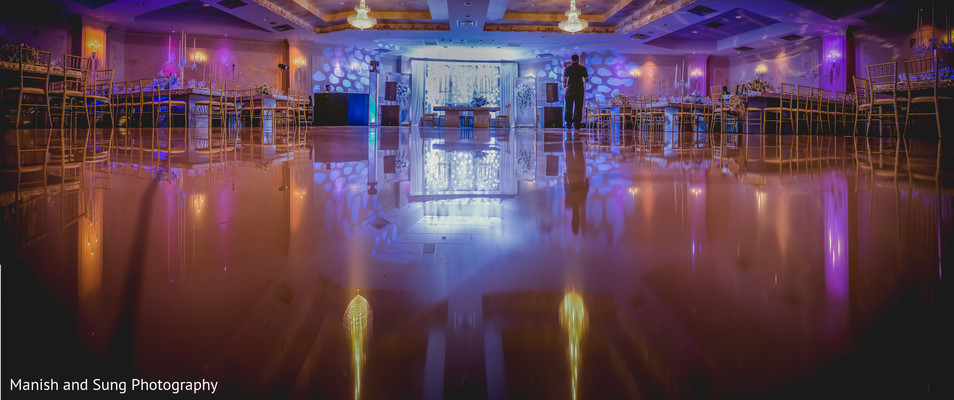 Reception venue in West Orange, NJ Indian Wedding by Manish and Sung Photography