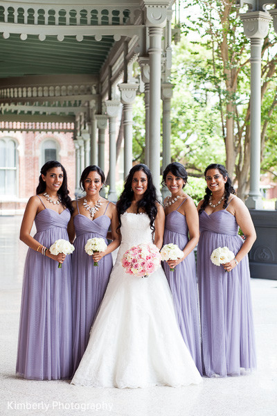 Wedding portraits in Tampa, FL Indian Fusion Wedding by Kimberly Photography
