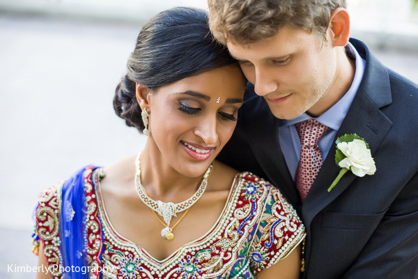 Reception portraits in Tampa, FL Indian Fusion Wedding by Kimberly Photography