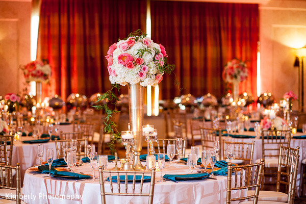 Floral & decor in Tampa, FL Indian Fusion Wedding by Kimberly Photography