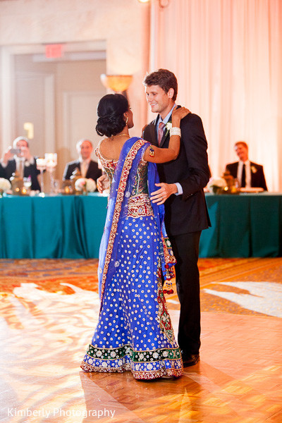 Wedding reception in Tampa, FL Indian Fusion Wedding by Kimberly Photography
