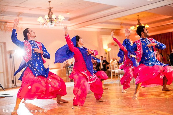 Reception performance in Tampa, FL Indian Fusion Wedding by Kimberly Photography