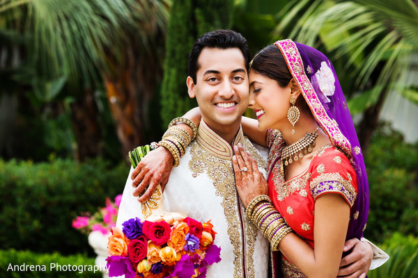 PreWedding Portraits in Laguna Niguel, CA Indian Wedding by Andrena Photography