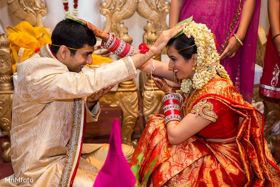 Ceremony In Dallas TX South Indian Wedding By MnMfoto