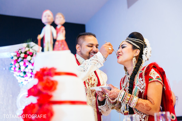 Reception in Utrecht, Netherlands Indian Wedding by TOTAALFOTOGRAFIE