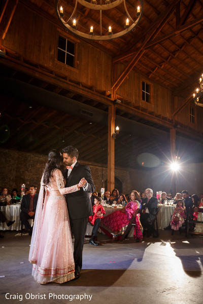 Reception in Lawrenceville, GA Indian Wedding by Craig Obrist Photography