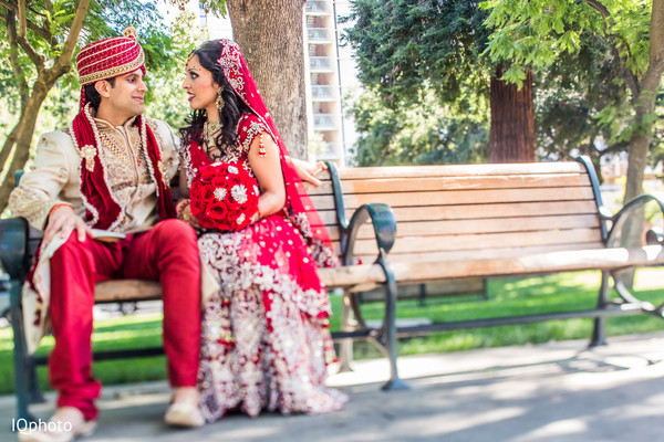 Portraits in San Jose, CA Indian Wedding by IQ Photography