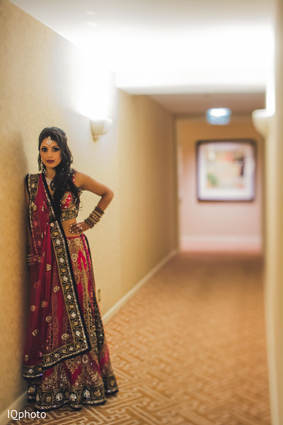 Reception in San Jose, CA Indian Wedding by IQ Photography