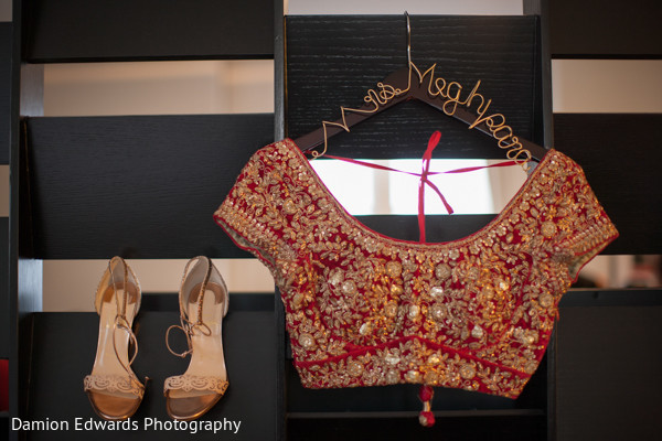 Getting ready in Philidelphia, PA Indian Wedding by Damion Edwards Photography