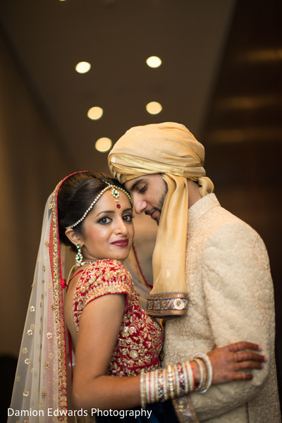 Wedding portraits in Philidelphia, PA Indian Wedding by Damion Edwards Photography