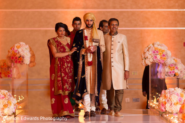 Wedding ceremony in Philidelphia, PA Indian Wedding by Damion Edwards Photography