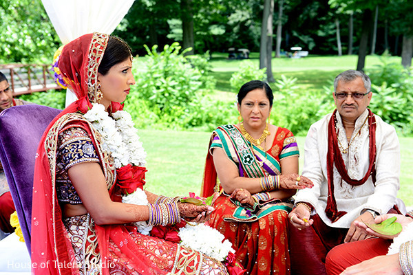 Wedding ceremony in Pearl River, NY Indian Wedding by House of Talent Studio