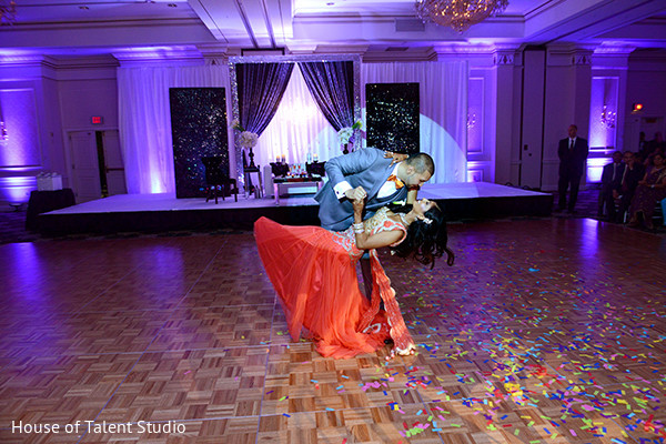 Wedding reception in Pearl River, NY Indian Wedding by House of Talent Studio
