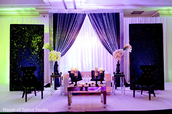 Floral & Decor in Pearl River, NY Indian Wedding by House of Talent Studio