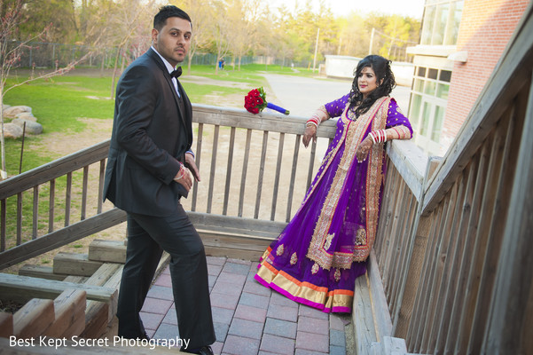 Portraits in Toronto, Canada Indian Wedding by Best Kept Secret Photography